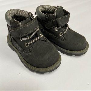Granimals black toddler work boots